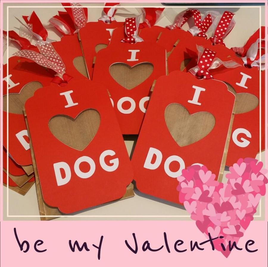 Sacchetti con biscotti per San Valentino