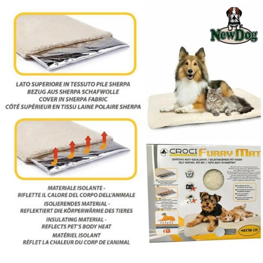 Accessori moda per cane newdog beauty center - Tappetino riscaldante per cani ...
